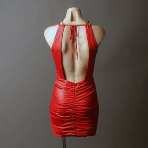 Red Club Dresses For Women Pictures
