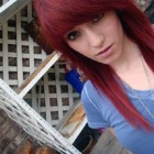 Red Hair Dye On Black Hair Images Pictures