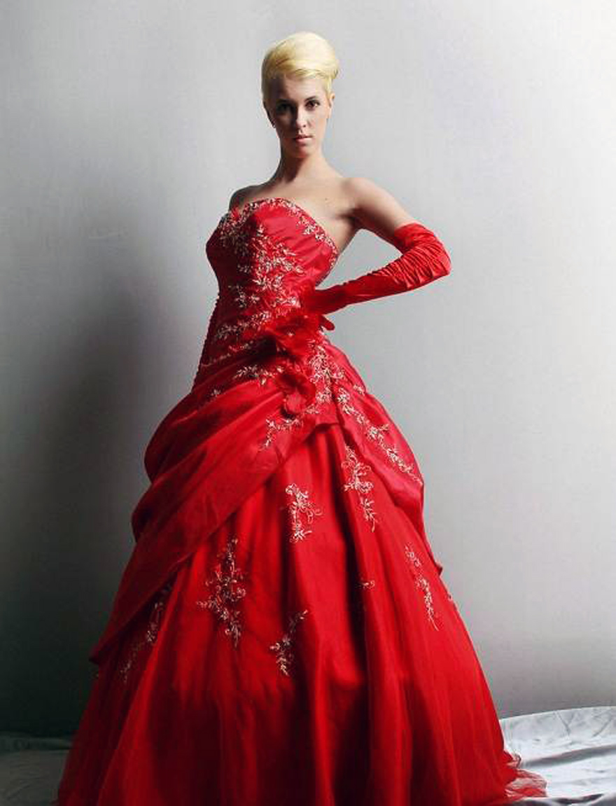 Red Puffy Prom Dresses Uk Pictures : Fashion Gallery