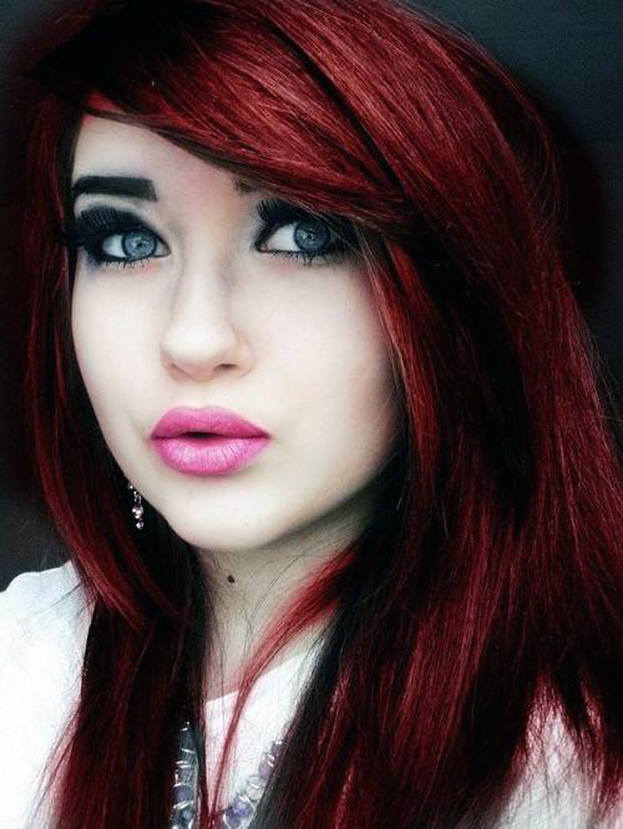 Red Violet Hair Color Formulas Pictures Fashion Gallery
