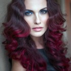 Red Violet Hair Color Ideas Pictures
