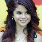 Red Violet Hair Color Photos Pictures