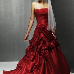 Red Wedding Dresses, aiBOB: Red Hot Wedding Dresses