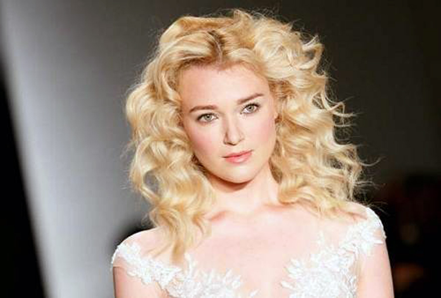 Relaxed Curly Wedding Hairstyles 2013