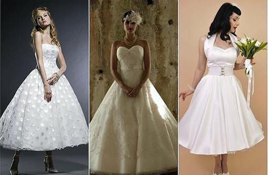 Retro Wedding Dresses UK - Inofashionstyle.com