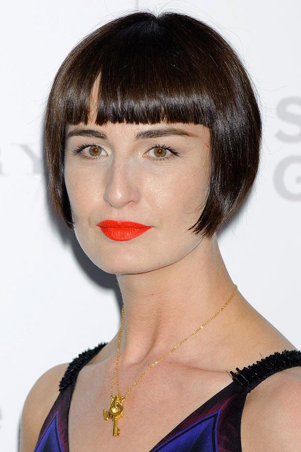 Roaring Twenties Fashion Hairstyles Erin O Connor S 20s Style Bob Fashion Gallery