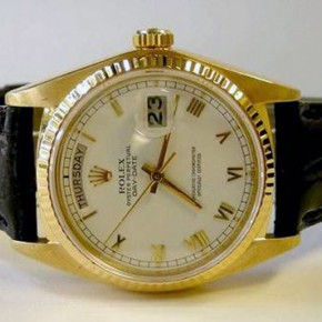 Rolex Men Gold Watch Images Pictures