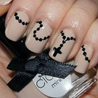Rosary Nail Art Designs Images Pictures