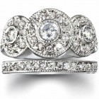 Round Wedding Rings Ideas Pictures