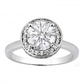 Round Wedding Rings Images Pictures