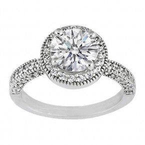 Round Wedding Rings Styles Pictures