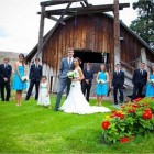 Rustic Country Wedding Bridesmaid Dresses Details Pictures