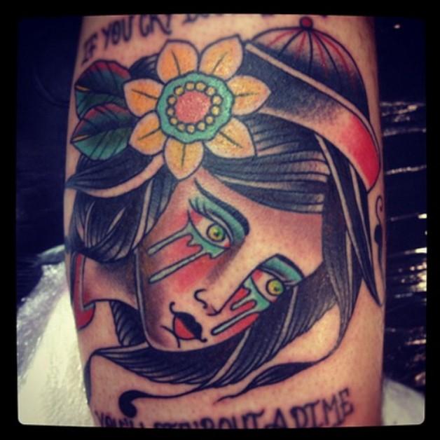 Sad Lady Design Best Tattoo Artists In London