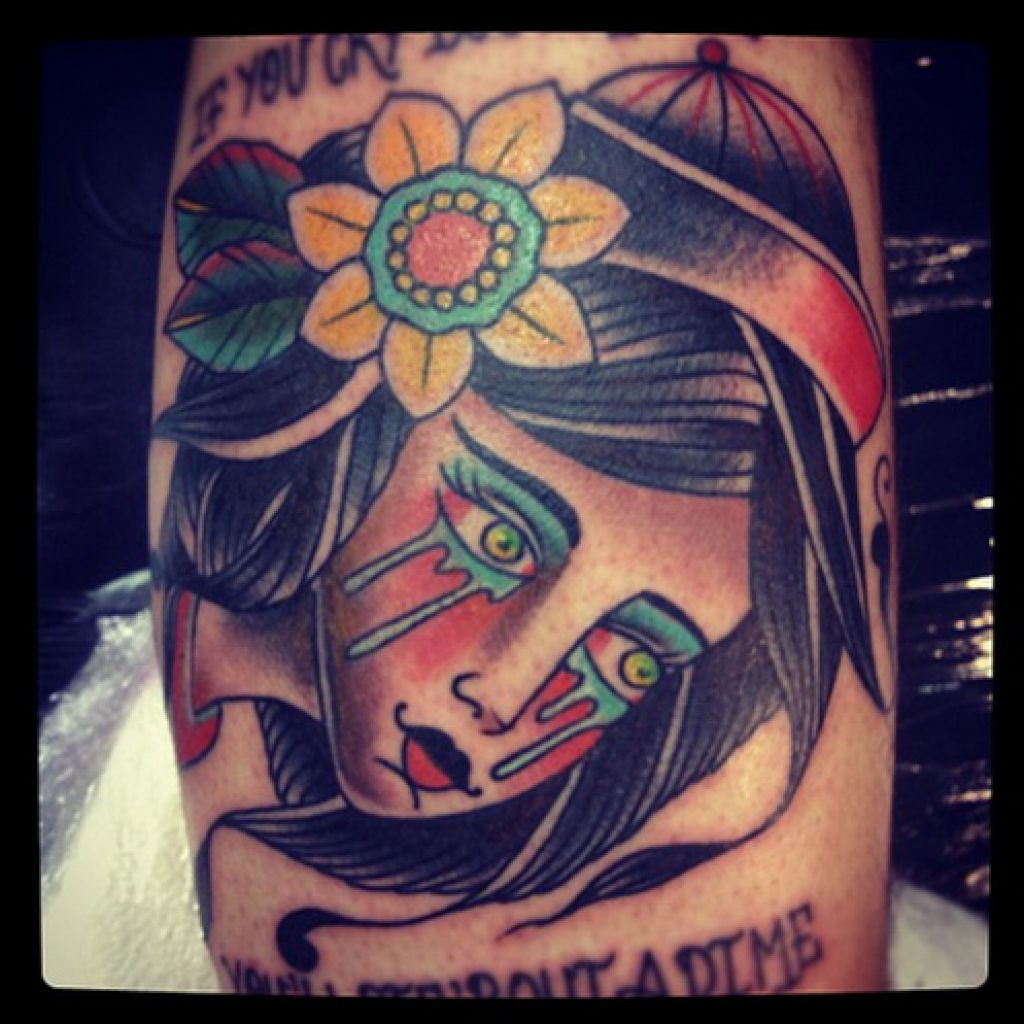 Sad Lady Design Best Tattoo Artists In London Pictures
