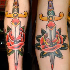 Sailor Jerry Daggers Tattoo Shapes Pictures