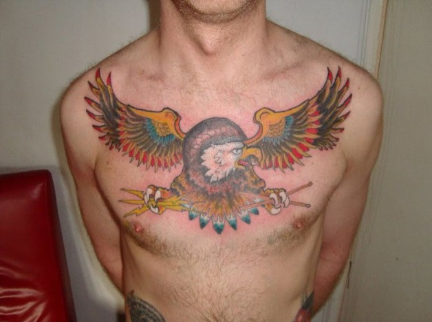 Sailor Jerry Tattoos Eagel Shapes