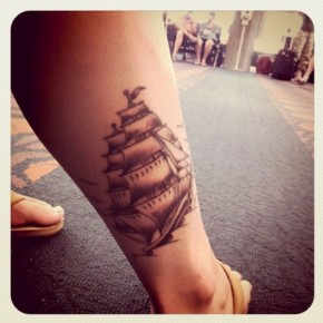 Sailor Jerry Tattoos Ship Large Pictures