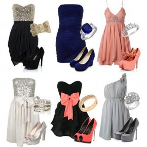 Semi Formal Dress Outfit Options Pictures