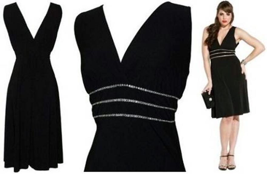 Sexy Black Plus Size Dress Ideas