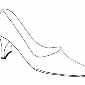 Shoes Drawing Designs Coloring Page Pictures