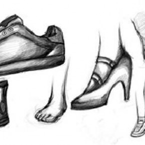 Shoes Drawing Designs Sketches Pictures