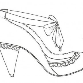 Shoes Drawing Designs Wedding Pictures