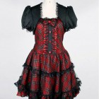 Short Gothic Dresses Images Pictures