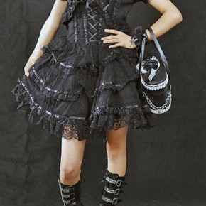 Short Gothic Dresses Sale Pictures