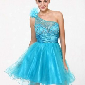 Short Gucci Prom Dresses Blue Pictures
