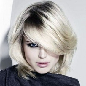 Short Hair With Heavy Bangs Designs Pictures
