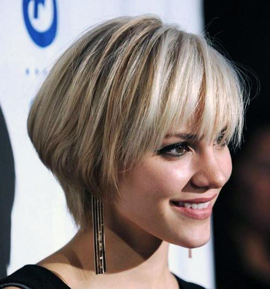 Short Hairstyles Bangs Inofashionstyle