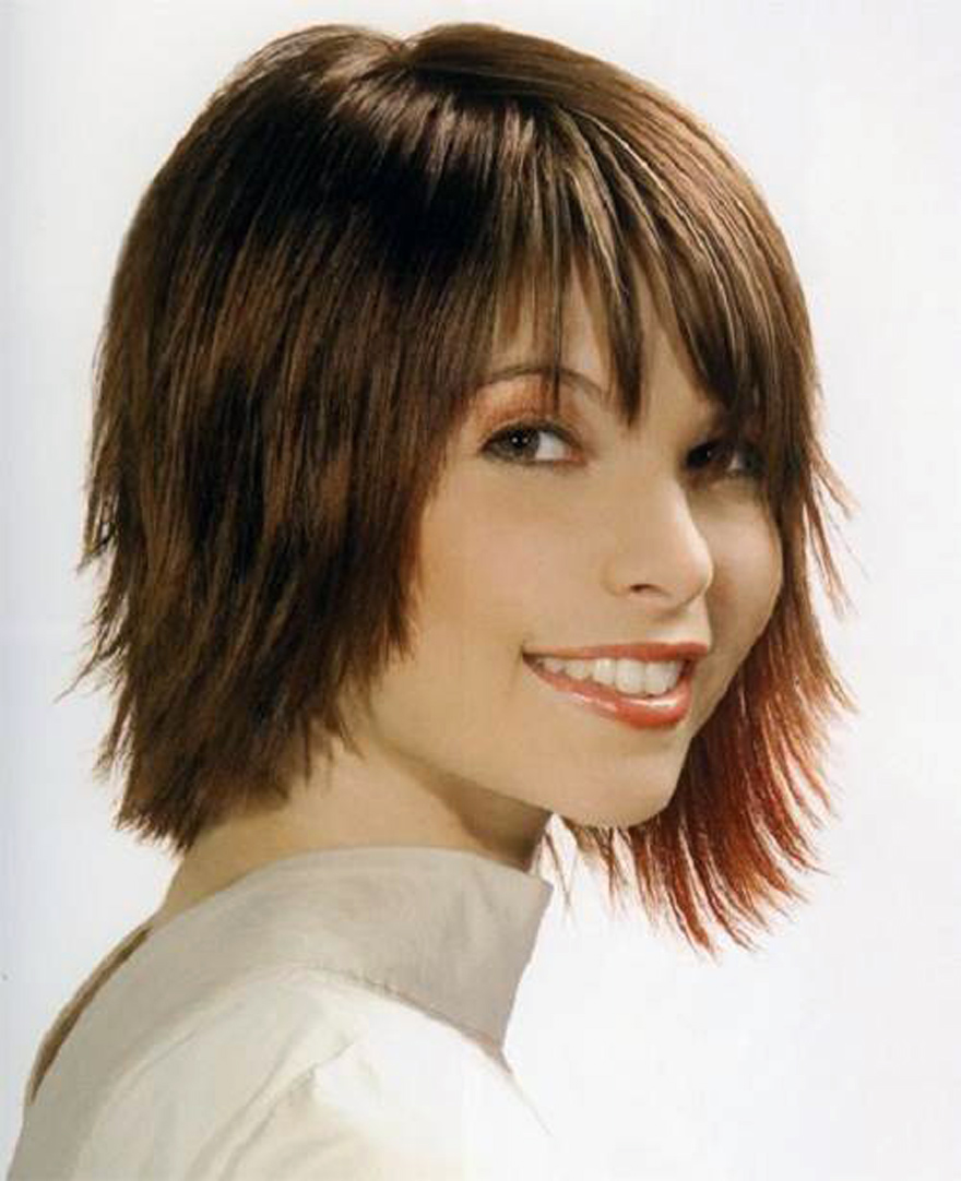Short Side Fringe Hairstyles Inofashionstyle Com