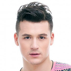 Short Sides Long Top Haircut Men Sample Pictures