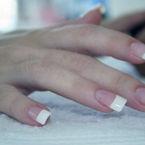 Silk Wrap Nails With Tips Pictures