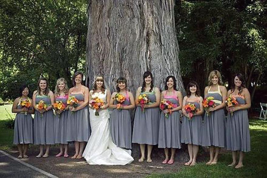 Silver Bridesmaid Dresses Under 100