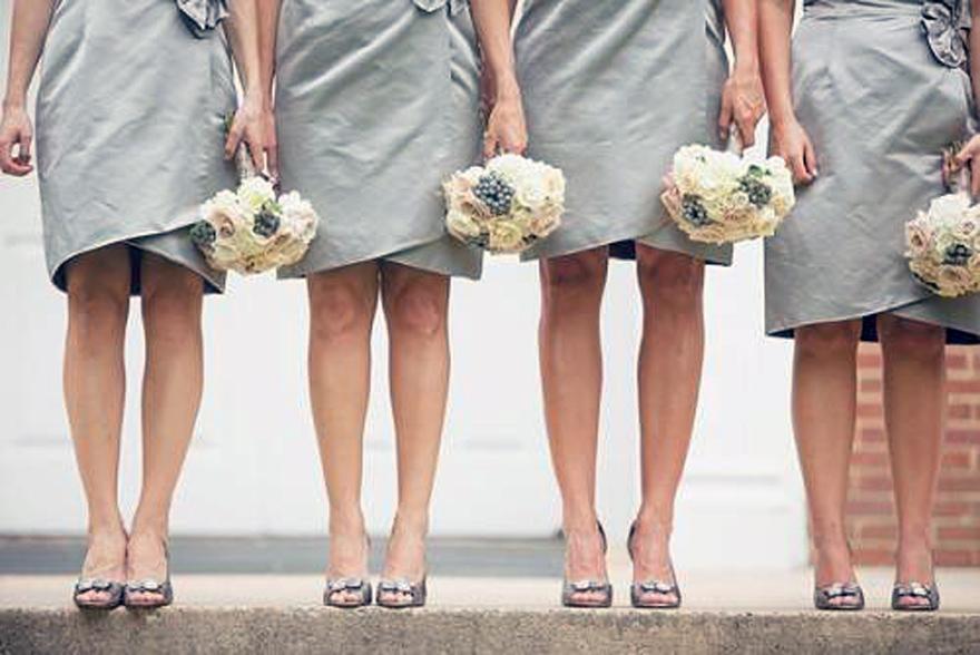 Silver Bridesmaid Dresses Under 50