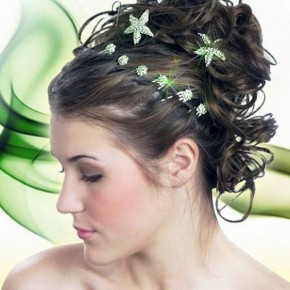 Simple Beach Wedding Hairstyles 2013 Pictures