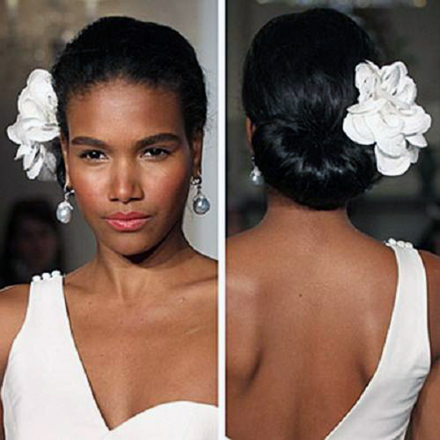 Simple Beach Wedding Hairstyles Images