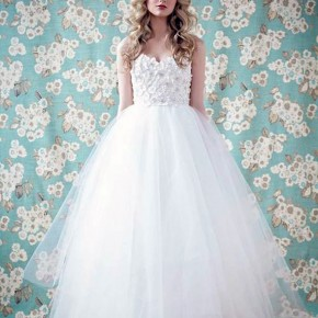 Simple Cinderella Wedding Dress For Sale Pictures