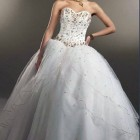 Simple Cinderella Wedding Dress Images Pictures
