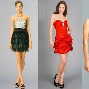 Simple Short Prom Dress Images Pictures