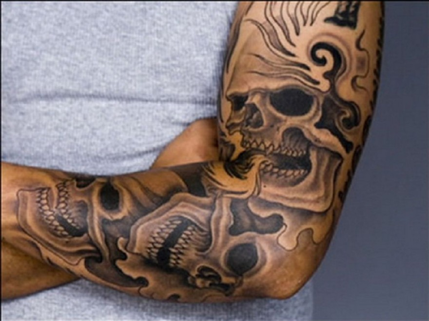 Skull Ink Tattoo Designs Sleeve Fashion