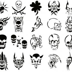 Tattoo Stencils Function Nice Black Tattoo Stencils Cool Airbrush