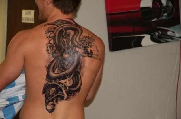 Snack Custom Temporary Tattoos For Men