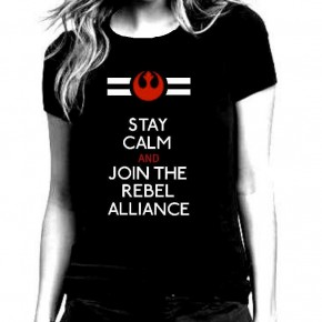Star Wars T-Shirts For Women, Star Wars Rebel Alliance Black T Shirt for by repurposefulPUNK
