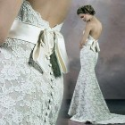 Strapless Lace Wedding Gowns For Sale Pictures