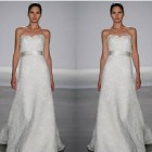 Strapless Lace Wedding Gowns Ideas Pictures