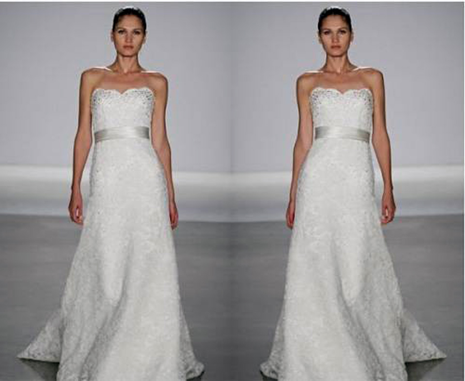 Strapless Lace Wedding Gowns Ideas