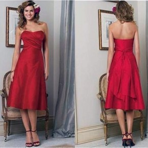 Strapless Red Dress Forever 21 Pictures