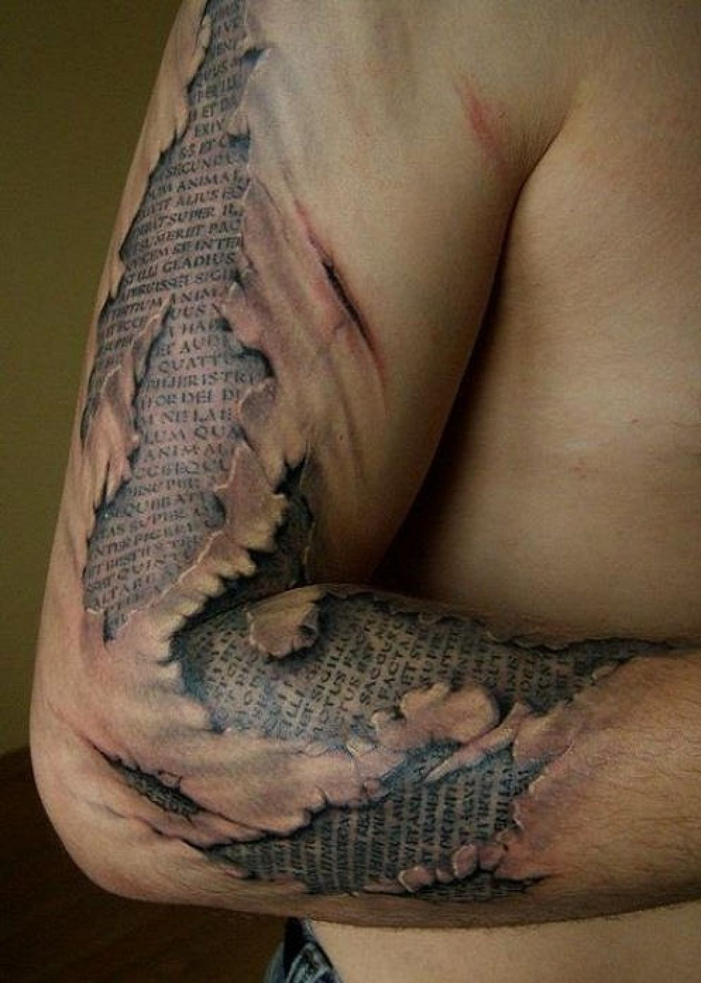 Stunning 3D Tattoo Fonts For Men Pictures
